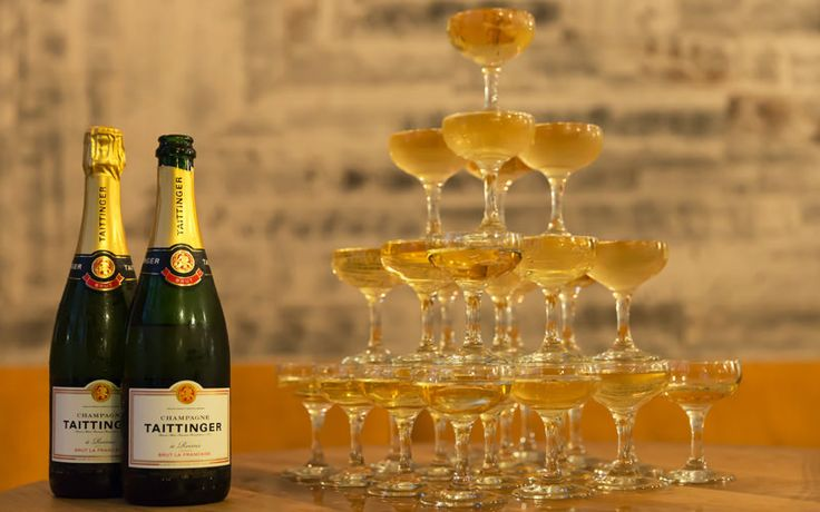 The Step-By-Step Guide To Building A Champagne Tower | VinePair