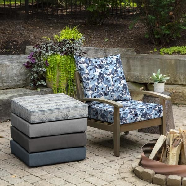 Replacement Patio Cushions Outdoor, Deep Seating Patio Cushions Replacement
