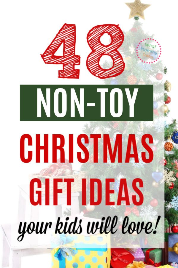 30 Non Toy Christmas Gift Ideas For Kids Christmas Gifts For Kids Christmas Gifts Toys Christmas Presents For Kids