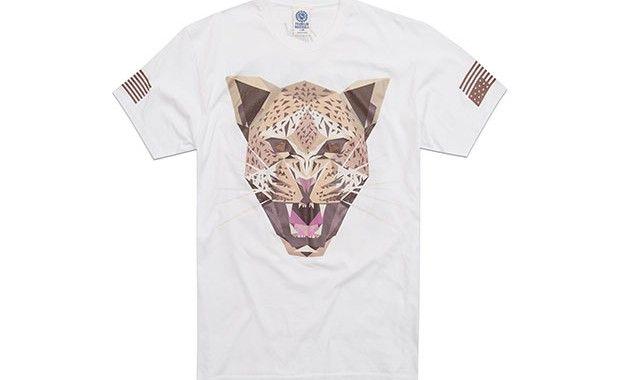 T-shirt tête de guépard collection Franklin & Marshall x Naturel #franklinmarshall #naturel