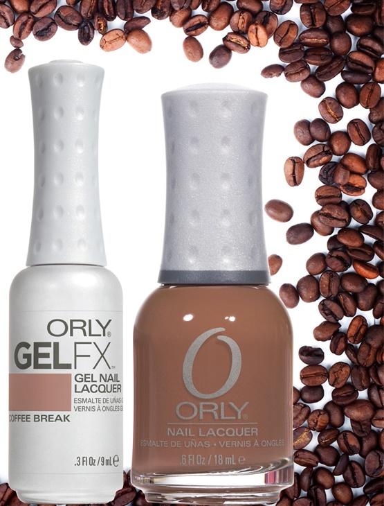 Orly GelFX COFFEE BREAK N°30575 e Smalto Orly N°40575