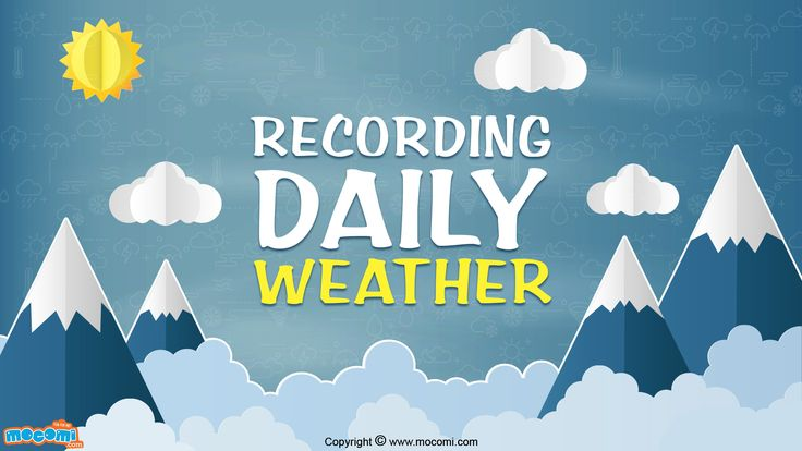 Weather forecasting has been an important part of traditions in all civilizations. Recording daily weather helps to know the weather throughout the year. Read More GK facts for Kids, visit: http://mocomi.com/learn/general-knowledge/