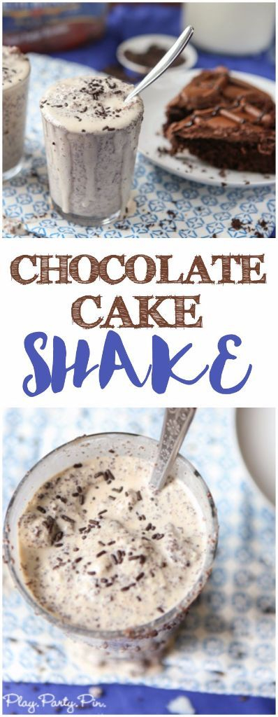 If you love cake and ice cream then this chocolate cake shake recipe is perfect …