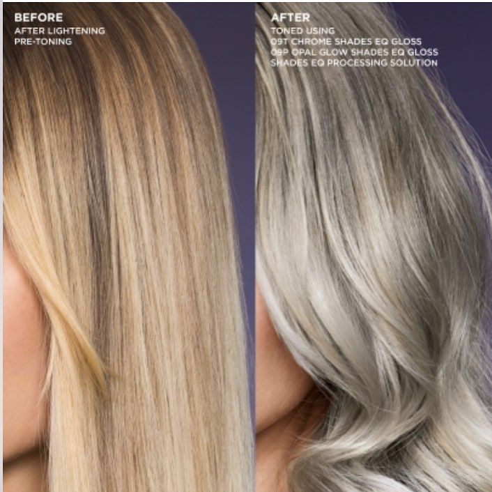 Redken Shades Eq 09t Chrome And 09 Opal Glow Redken Hair Color