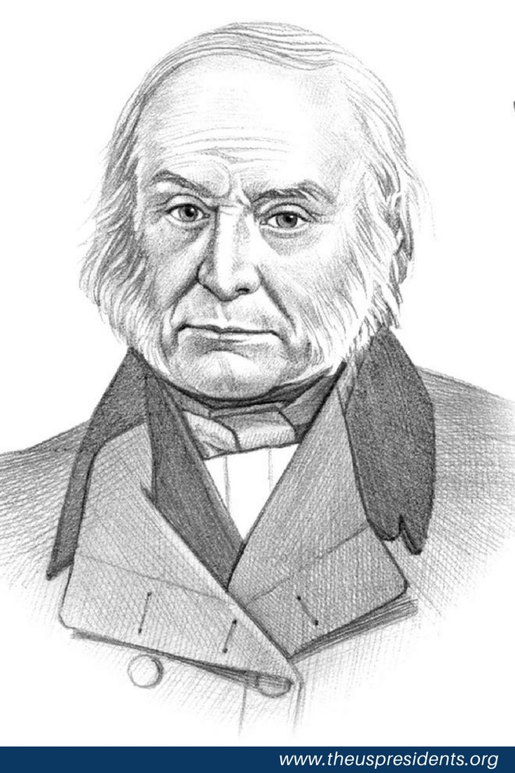 John Quincy Adams Biography | member of the Democratic-Republican Party, took office as the 6th President of the United States on March 4, 1825 at age 57. Adams served in office for 4 years and left when he lost reelection. He was born in Braintree, MA and received an education from Harvard University and Leiden University.