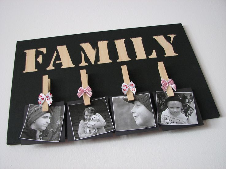 Galeria rodzinna w stylu Twoje DIY. Cały tutorial na blogu www.twojediy.pl