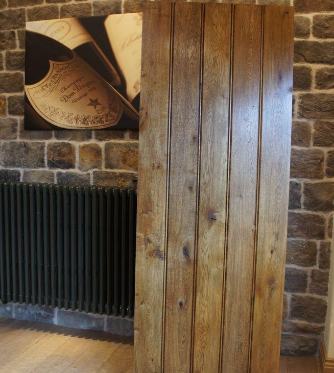 Eiche Turen Irish Cottage Ferienhaus Innenraume Solid Oak