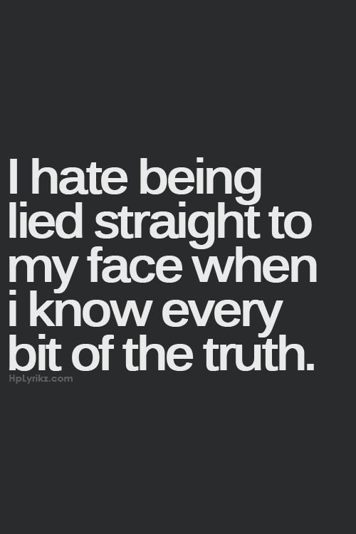 i hate people who lie quotes - photo #17