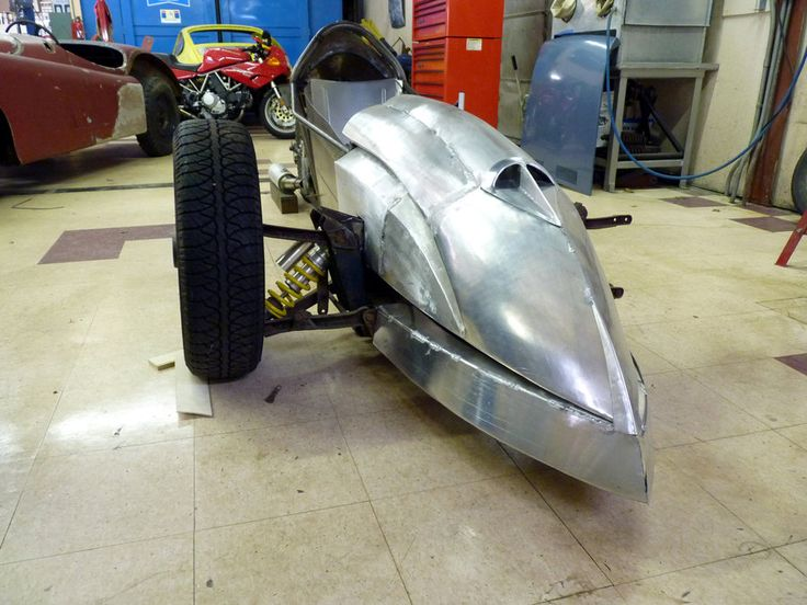 how to build a reverse trike motorcycle