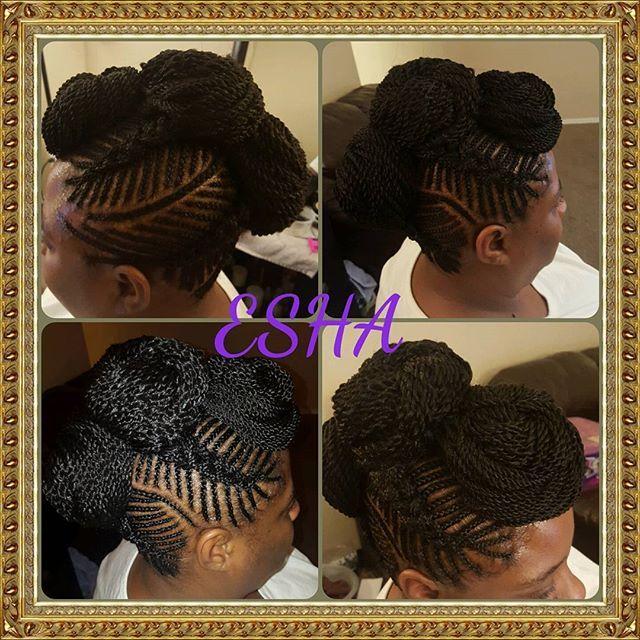 Top 100 senegalese twist styles photos #cornrowstyle #iversonbraids #fishbonebraids #cornrows #goddessbraids #senegalesetwiststyles #bun #crochetbraids #stylishlyfe #esha See more http://wumann.com/top-100-senegalese-twist-styles-photos/
