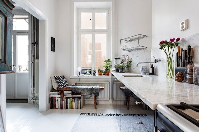 my scandinavian home: A relaxed and inviting Stockholm space