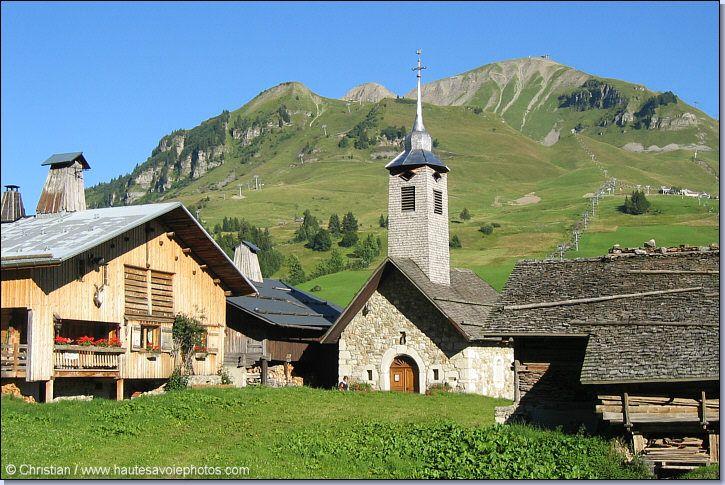 chappelle au Chinaillon. Haute-Savoie