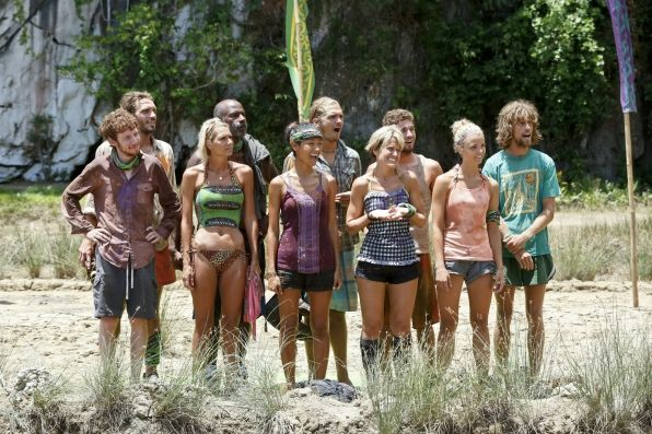 "Survivor Photos: Lining up in ""Zipping Over the Cuckoo's Nest"" Episode 10 of Season 26 on CBS.com"