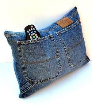 copri cuscini coi jeans