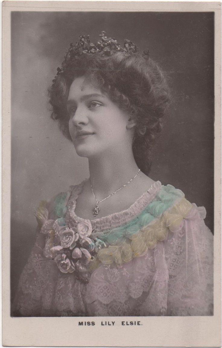 Miss Lily Elsie : Photo