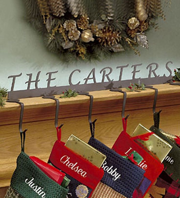 Fireplace Mantel stocking holders for fireplace mantel : Best 25+ Mantle stocking holders ideas on Pinterest | Stocking ...