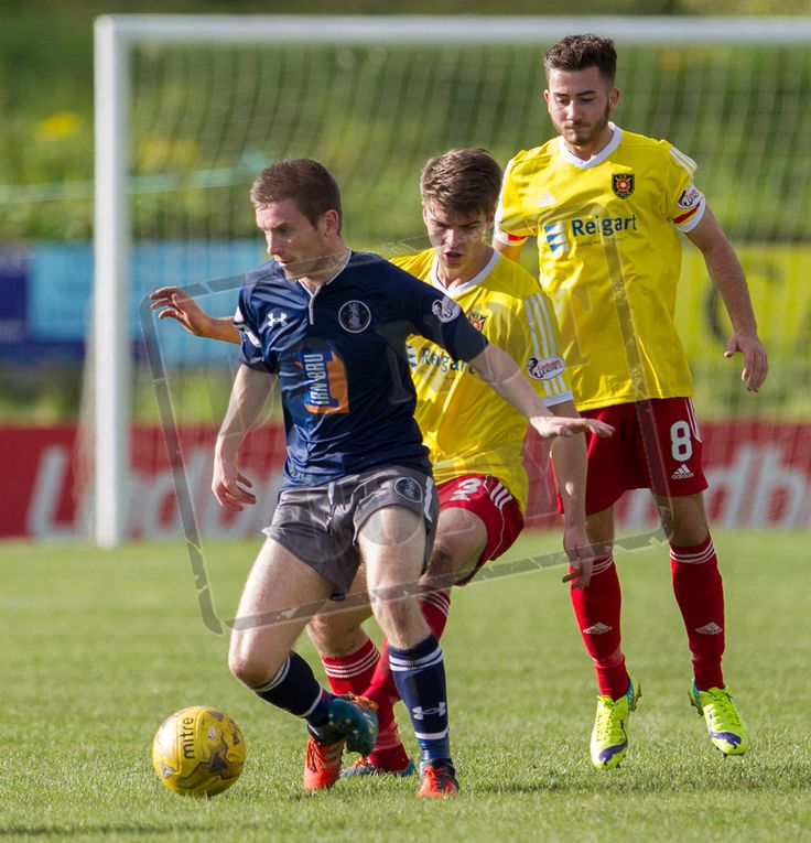 Queen's Park's Gregor Fotheringham in action during the Ladbrokes League One game between Albion Rovers and Queen's Park.