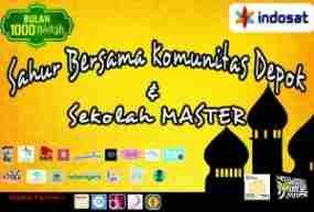 update Komunitas Depok Akan Sahur Bersama Sekolah Master Lihat berita https://www.depoklik.com/blog/komunitas-depok-akan-sahur-bersama-sekolah-master/