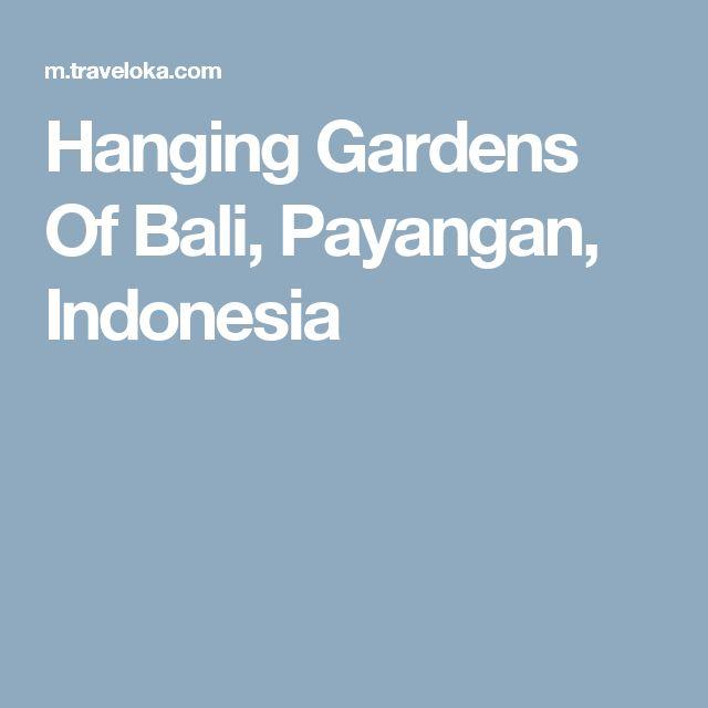 Bosen bgt liburan dirumah doang. Mau ke bali tapi mahal?... hmm eits jangan salah, traveloka nyediain tiket liburan murah loh, yuk cek ke https://www.traveloka.com/hotel/indonesia/hanging-gardens-of-bali-48720