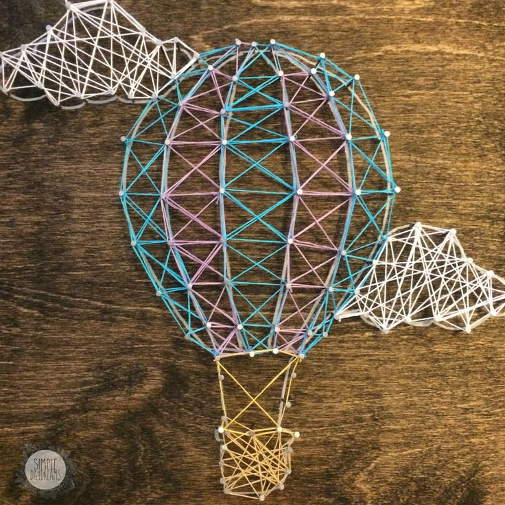 19 best string art images on pinterest nail string art diy and hot air balloon string art prinsesfo Gallery