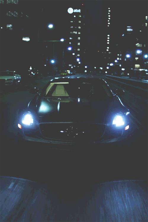 Car Gifs Lights Pinterest