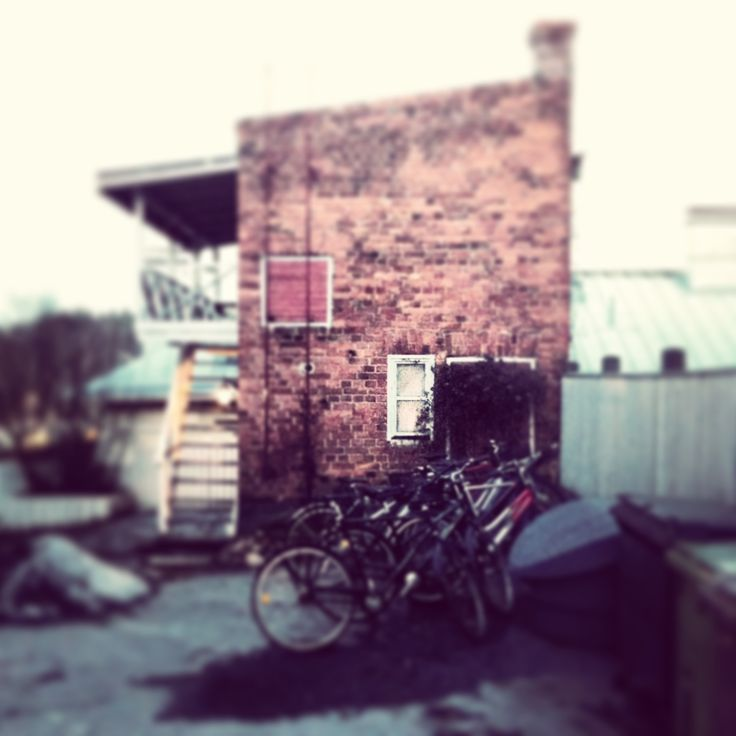 The possibly haunted sauna. #tampereblog