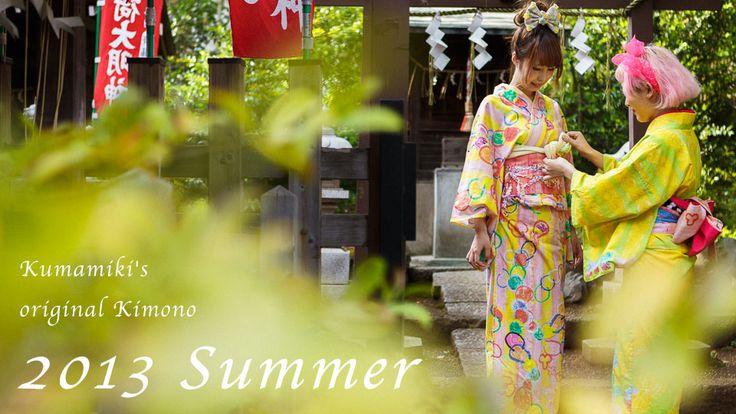 Kumamiki's original Kimono 2013 Summer | Kumamiki
