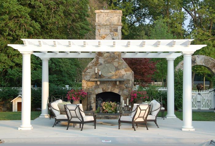 25 Best Ideas About Outdoor Fireplaces On Pinterest Backyard Fireplace Outdoor Patio Designs