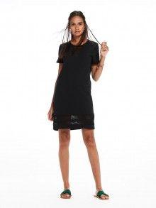 Scotch&Soda černé děrované sporty šaty - 2420 kč