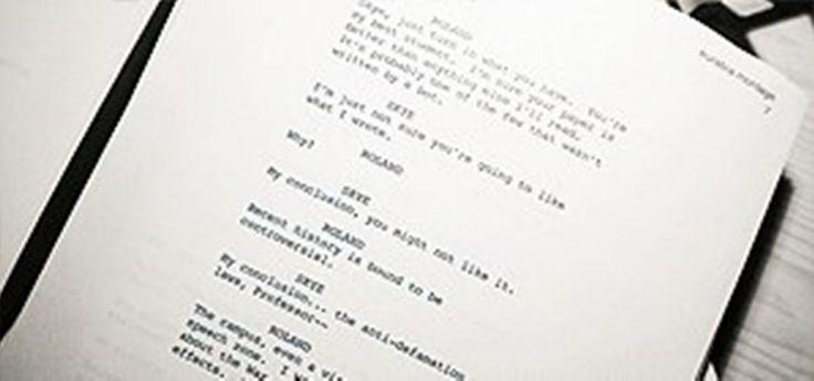 Script writing help