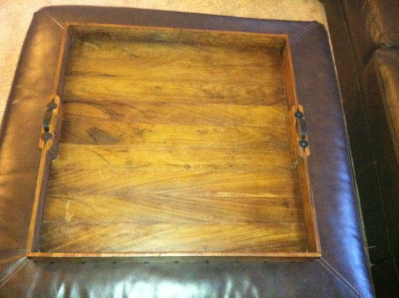 Handcrafted Ottoman or Table Tray Made with by CartwrightThings, $60.00