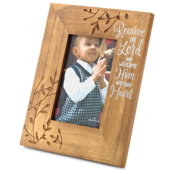 Hallmark Receive the Lord Picture Frame, 4x6 Picture Frames Birthday Religious Events