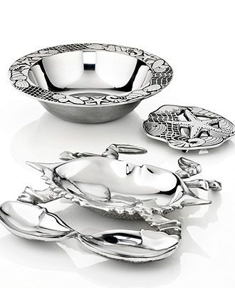 Wilton Armetale Serveware, Coastal Collection