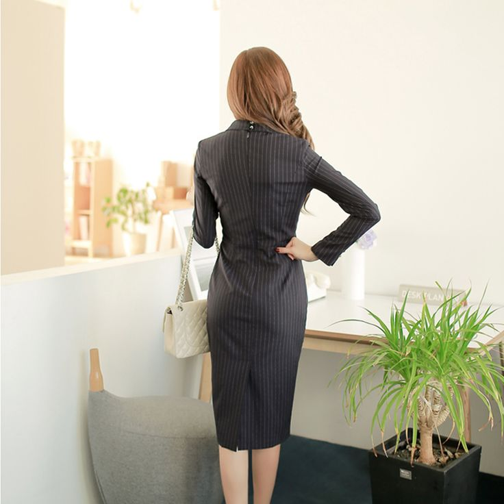 2017 vrouwen business uniformen past lange mouwen jassen en tailored jurken conjunto de blazer e vestido feminino dress