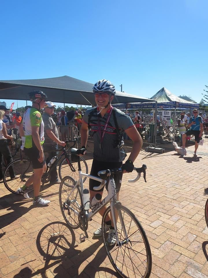 Past African Impact volunteer Jack cycled 109km in 4 hours and 30 mins at the Argus Cycle race in Cape Town after generously raising over £700 for our initiatives at our Cape Town location.