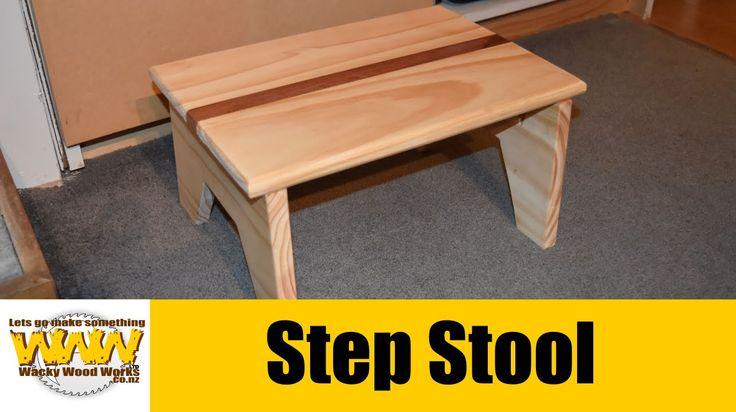StepStool - Off the cuff - Wacky Wood Works