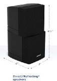 Bose Acoustmass Direct/Reflecting Speaker -Black - Bose Acoustmass Direct/Reflecting Speaker -Black    Bose Acoustmass Direct/Reflecting Speaker -Black  Bose Acoustmass Direct/Reflecting Speaker Array -Black              List Price: $  199.99    Pric