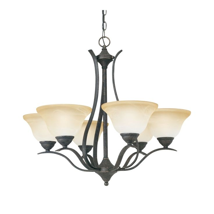 PRESTIGE chandelier Sable Bronze 6x100W SL863622