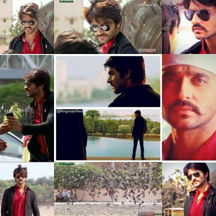 Can't get over rudra's look.. Rangrasiya!