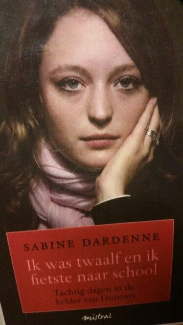 Ik koos deze afbeelding omwille van het verhaal van Sabine Dardenne. Ik las haar boek 'Ik was twaalf en ik fietste naar school'. In het boek beschrijft ze de donkere dagen in de kelder van Dutroux. Ik vond het een aangrijpend verhaal. Ik las het boek met als doel om meer informatie te verkrijgen over de zaak Dutroux.