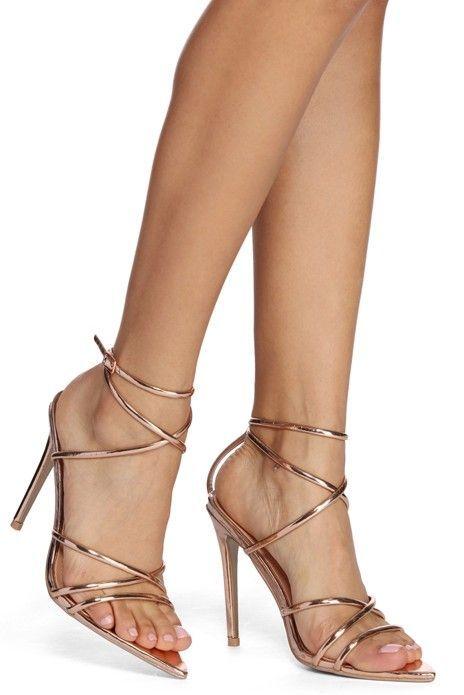 9b37dbac9 Looks Can Slay Strappy Heels  StilettoHeels