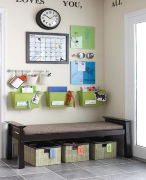 10 Back To School Command Centers To Get You Organized