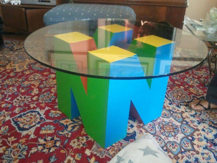 Para combinar com a estante do Tetris...só falta mesmo isso :)