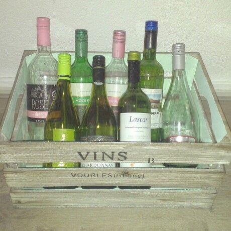 Handig om lege flessen in te verzamelen!