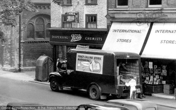 Huntingdon, Delivery Van c.1955, from Francis Frith