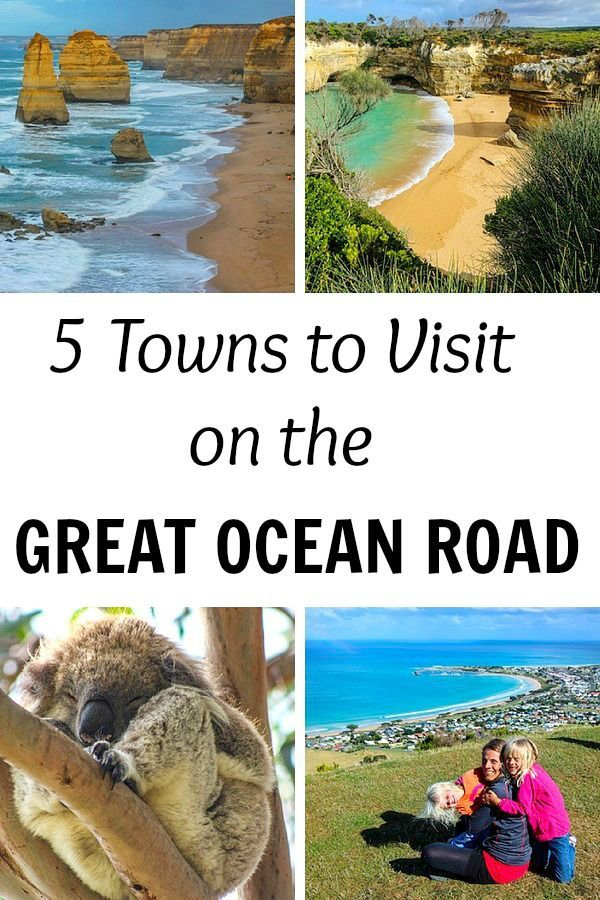 5 Towns to Visit Along the Great Ocean Road in Australia