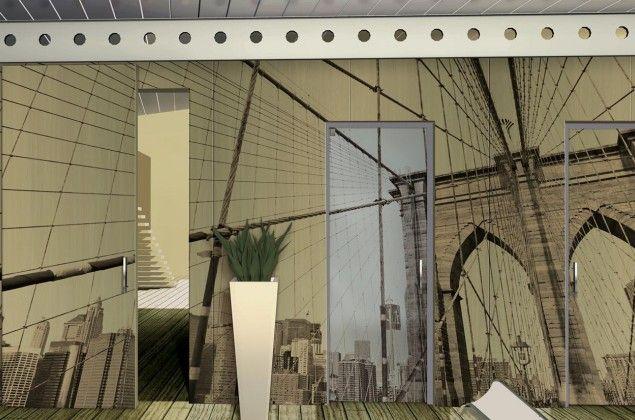 Con gli Architectural Panels di MR, realizzati grazie a Valjet, la porta c'è, ma non si vede. Ogni parete diventa un'opera d'arte tutta da scoprire. WITH MR ARCHITECTURAL PANELS REALISED WITH VALJET, THE DOOR EXIST BUT YOU CAN'T SEE IT. EACH WALL BECAME A WORK OF ARTE TO DISCOVER
