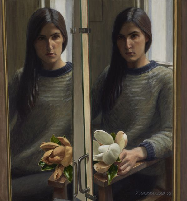 Self-portrait with magnolia by Tsering Hannaford The judges have had their say - but what do you think? Choose the Archibald Prize finalists you like in our people's choice gallery.