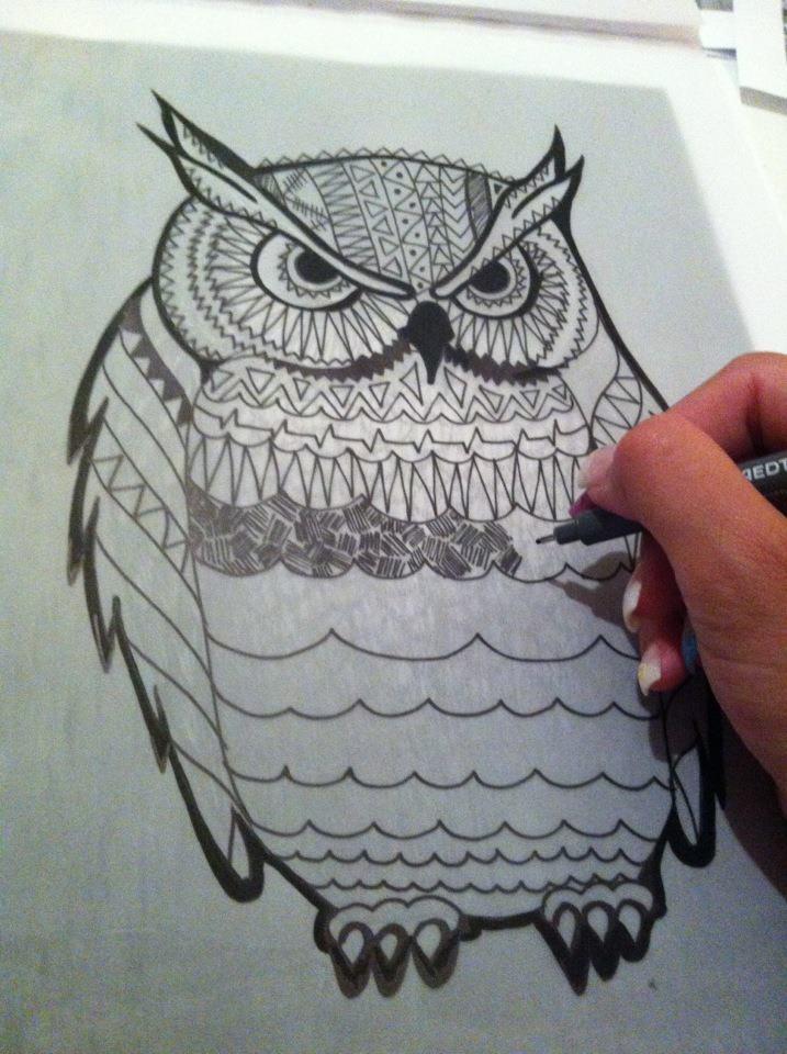 Kristinz Veritaz Design: Graz meets ℒondon ✈ My summer exhibition / owl