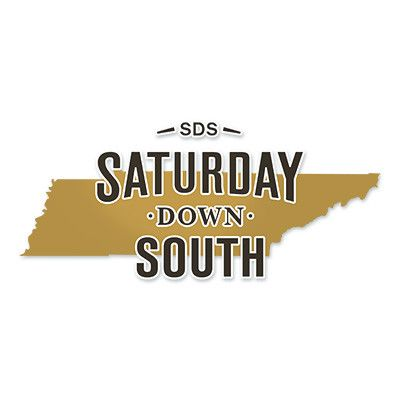 "Contour-cut state decal with approximately 5"" wide Saturday Down South logo. Goes great on a car window, cooler, boat, or a conspicuous place on a rival fan's personal property. Designed to resist UV"